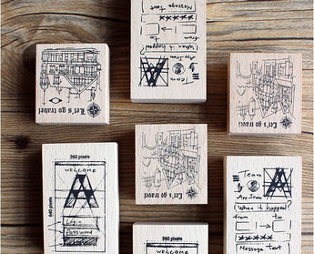 Moodtape Wooden Stamp