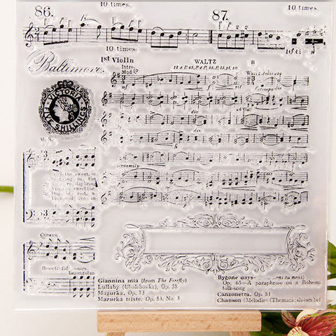 Clear Stamp - Sheet Music