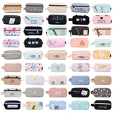 Canvas Cute Pencil Case