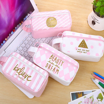 Pink Series High Capacity Pencil Case