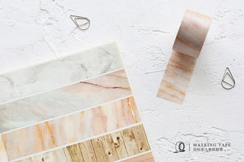 Marble & Wood Washitape