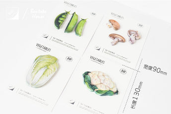 Vegetable Memo Pad / Sticky Note