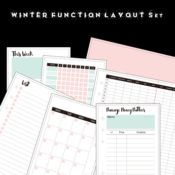 Winter Function Layout SET