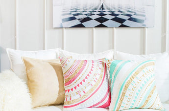 Pillow Case - Aztec Design