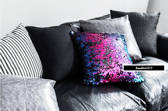 Pillow Case - Sequins Throw Pilow