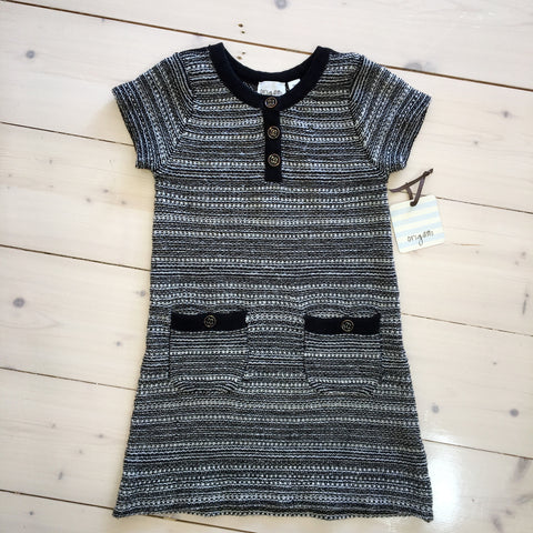 Brand New Origami Girls Knit Dress Size 5 - Preloved Chic  - 1