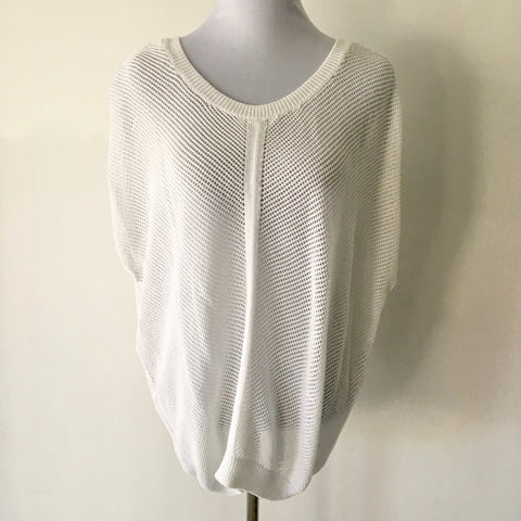Country Road Cotton White Knit Size M