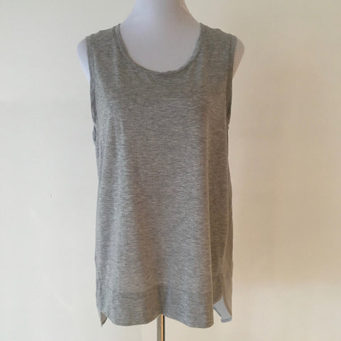 Country Road Silk Trim Tank Size L