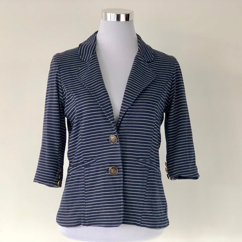 Shilla Seaside Stripe Jacket Size 12 - BRAND NEW