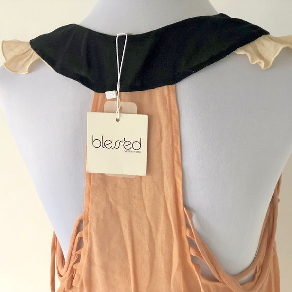 Bless'ed Are The Meek Leave Your Lover Top Size 10 - Brand New with Tags