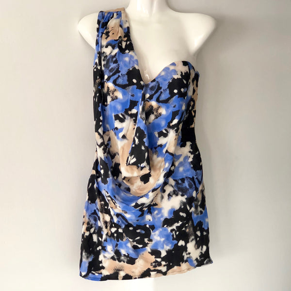 Rachel Gilbert One Shoulder Dress Size 8