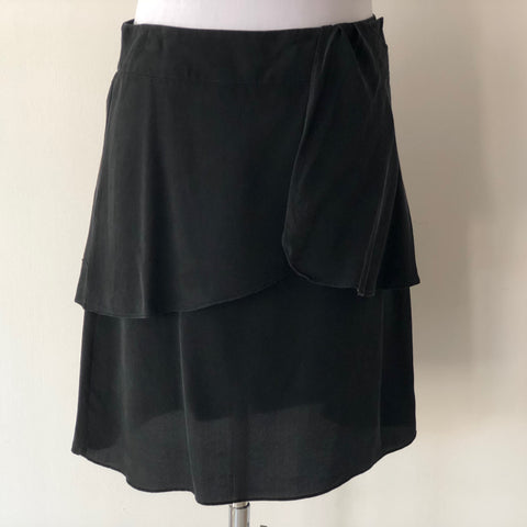 Witchery Pure Silk Wrap Skirt Size 8