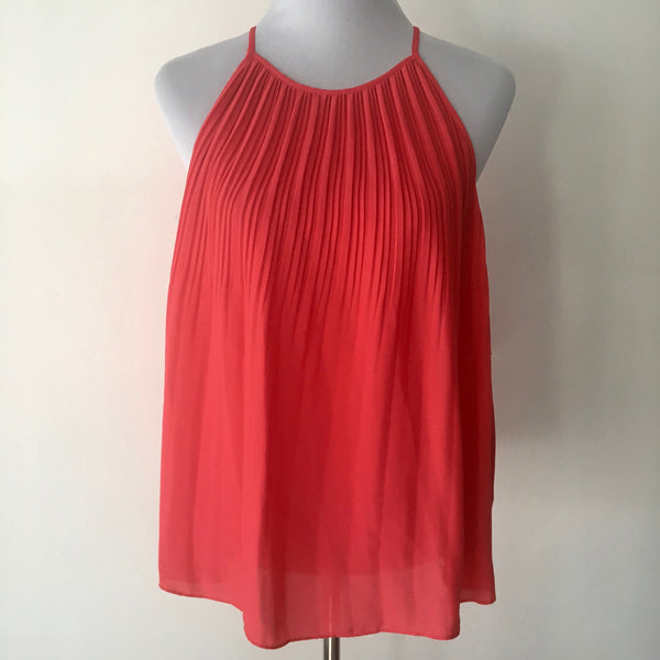 Forever New Audrey Pleated Cami Top Size 8 Brand New