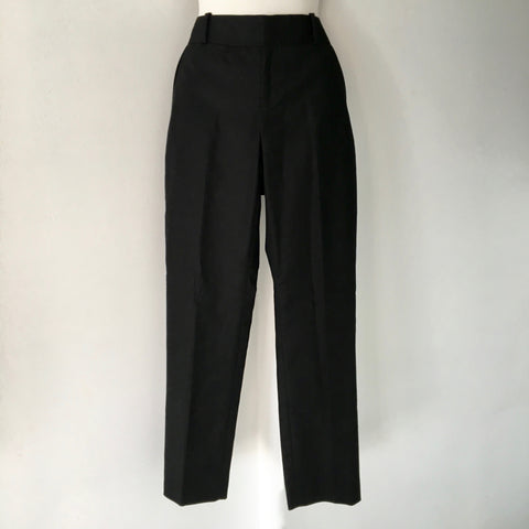 Calvin Klein Black Tailored Pants Size 2 - Brand New with Tags