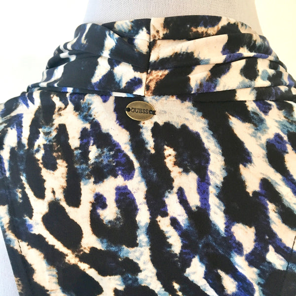 Guess Leopard Print Sleeveless Top Size S - Brand New
