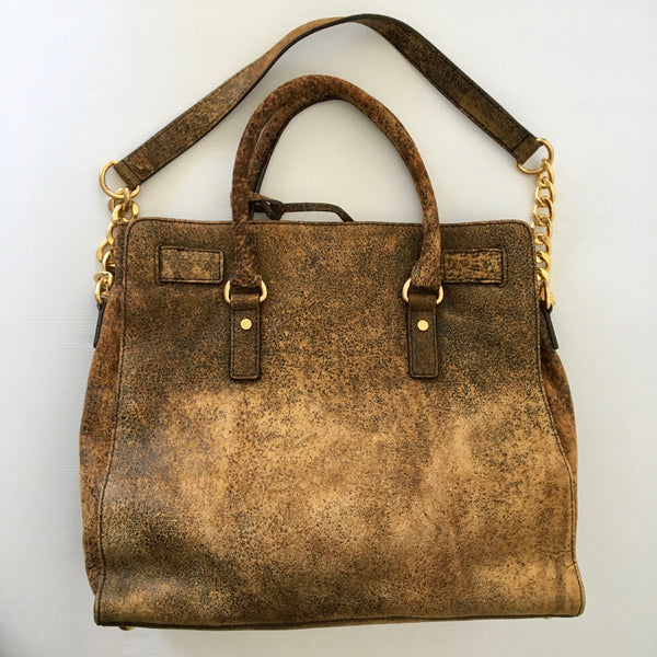 Michael Kors Hamilton- Large Distressed Tote