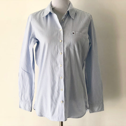 Tommy Hilfiger Cotton Ladies Shirt Size 10