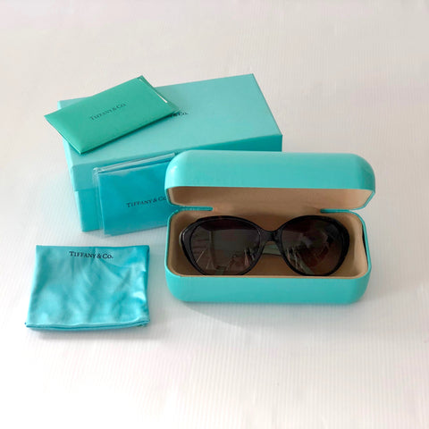 Tiffany & Co Signature Sunglasses TF 4098-F 8134/3B Blue Gradient 56mm