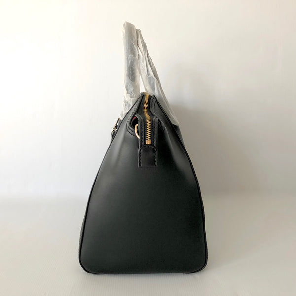 Condura Black Leather Tote - Brand New with Tags