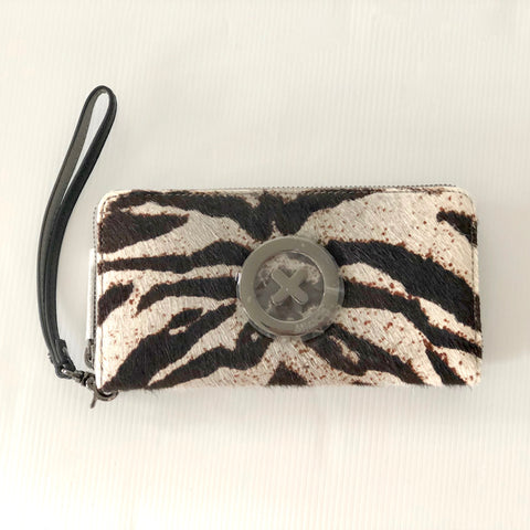 Mimco Supernatural Zip Wallet / Cheshire Tiger