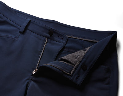 Up-Close Front - VUGA Anton 5-Pocket Pant - Black