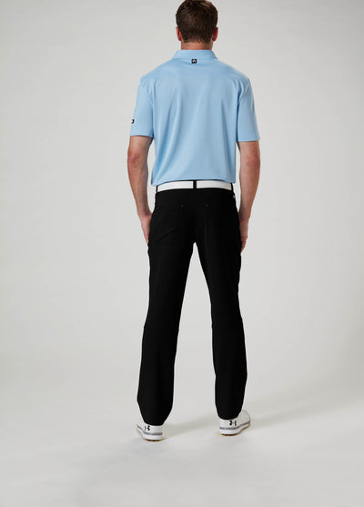 Back View - VUGA Anton 5-Pocket Pant - Black