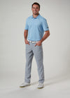 Front View of VUGA Anton 5-Pocket Pant - Cool Grey