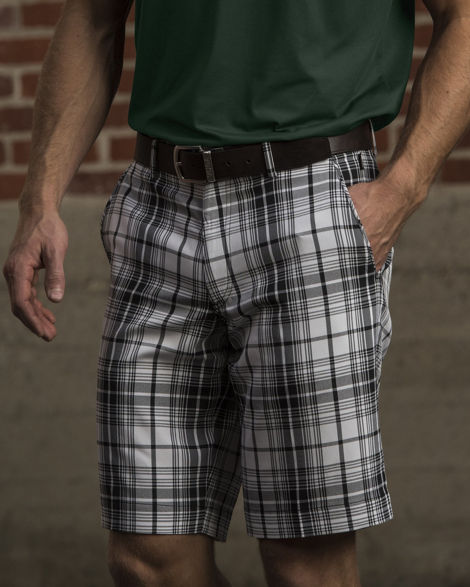 Duncan Plaid Short
