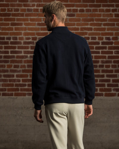 Erwin Sweater Jacket - Navy Blazer