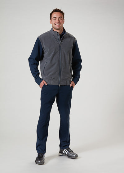 Landon Windbreaker - Navy Blazer / Cool Grey