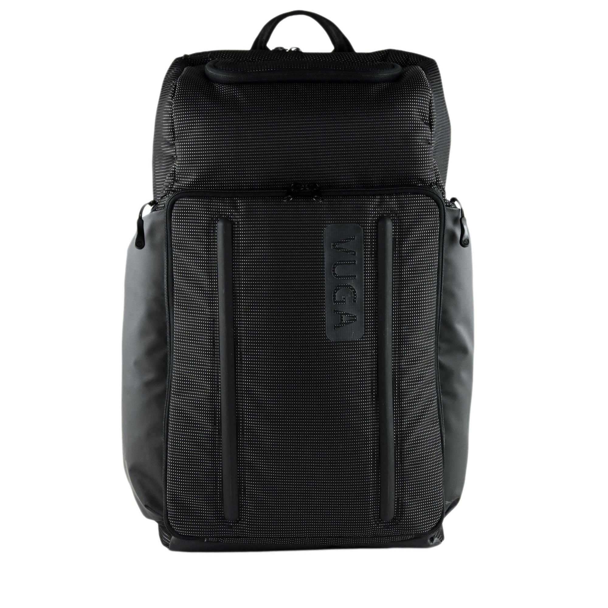 Front View of VUGA - Barrett Backpack - Black