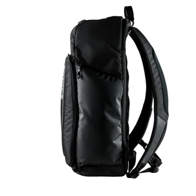 Side View of VUGA - Barrett Backpack - Black