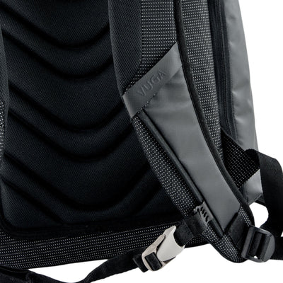 Strap View of VUGA - Barrett Backpack - Black