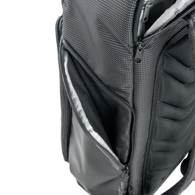 Up-Close View of VUGA - Barrett Backpack - Black