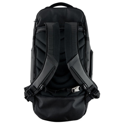 Back View Open Straps View of VUGA - Allem Duffle Travel Backpack