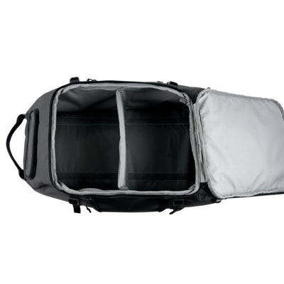 Inside Open View of VUGA - Allem Duffle Travel Backpack