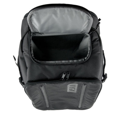 Top Pocket View of VUGA - Allem Duffle Travel Backpack