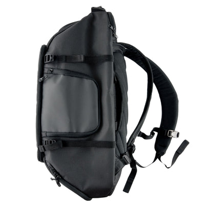 Side View of VUGA - Allem Duffle Travel Backpack