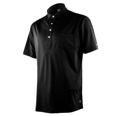 Jones Pocket Polo - Black