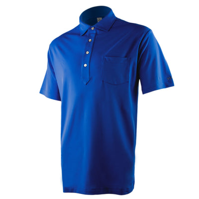 Jones Pocket Polo - Royal Blue