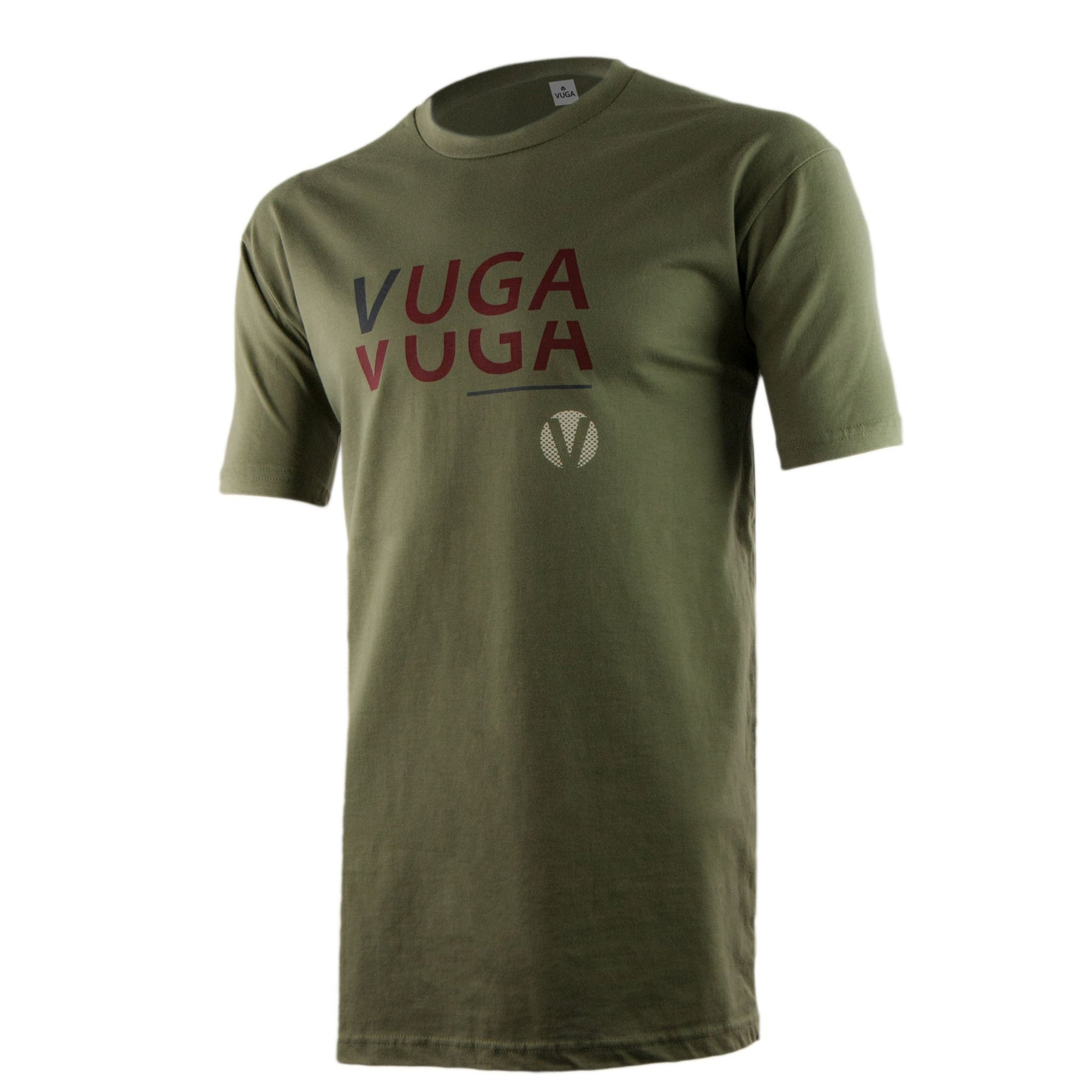 Stacked Logo Tee - Olive