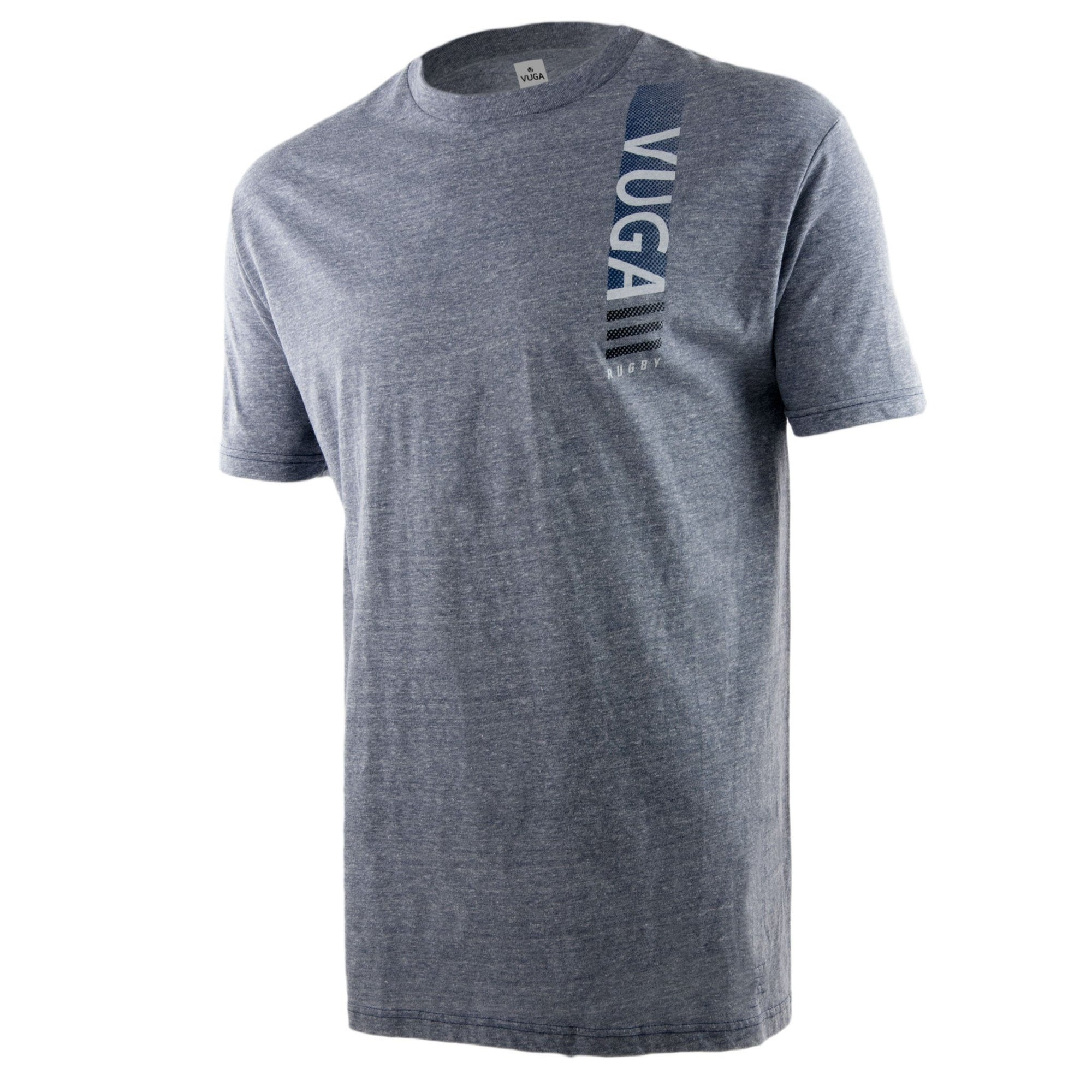 Rugby Logo Tee - Grey Heather