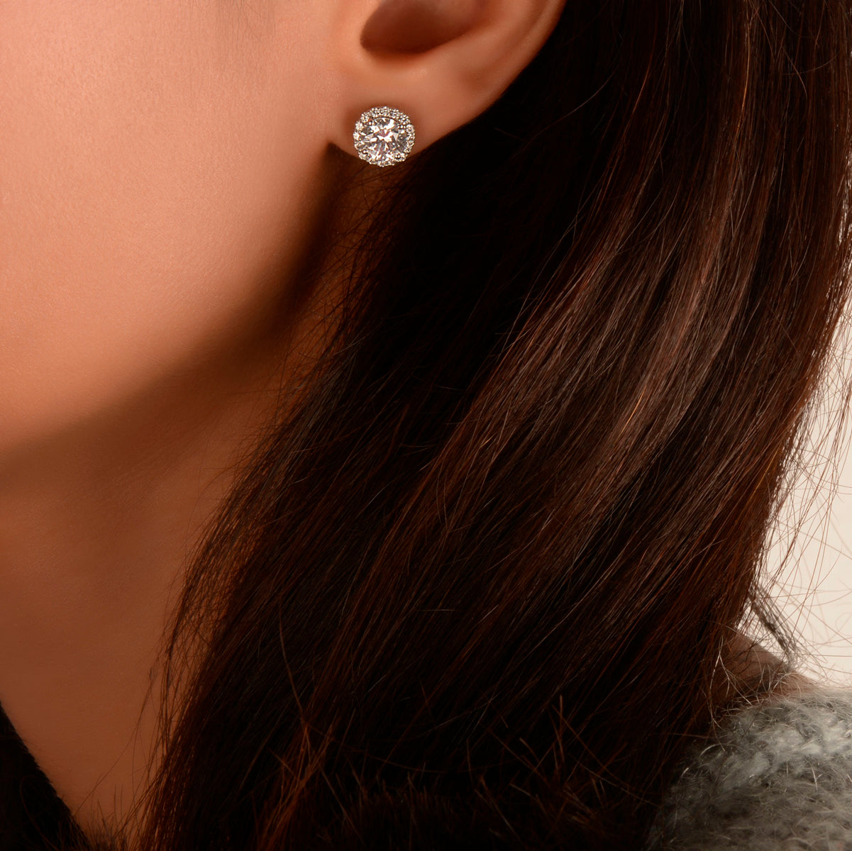 details colorless carat stud unbelievable g value index in gold natural white f diamond super genuine karat earrings