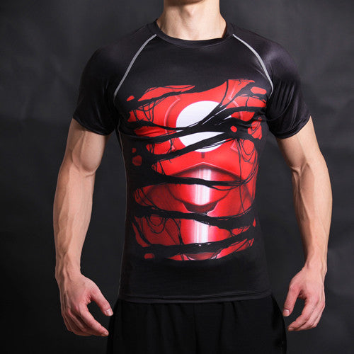 T-shirts Men T Shirt  iron man
