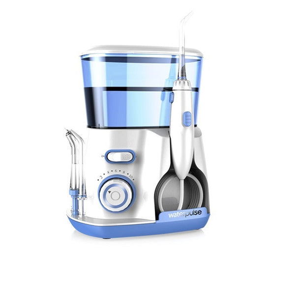 Dental Water Flosser Jet - Oral Irrigator with 5 Tip & 800 water tank dental hygiene for removal of plaque and debris