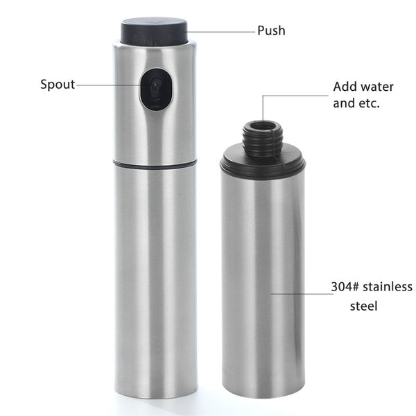 Stainless Steel Olive Oil Spray Bottle Sprayer
