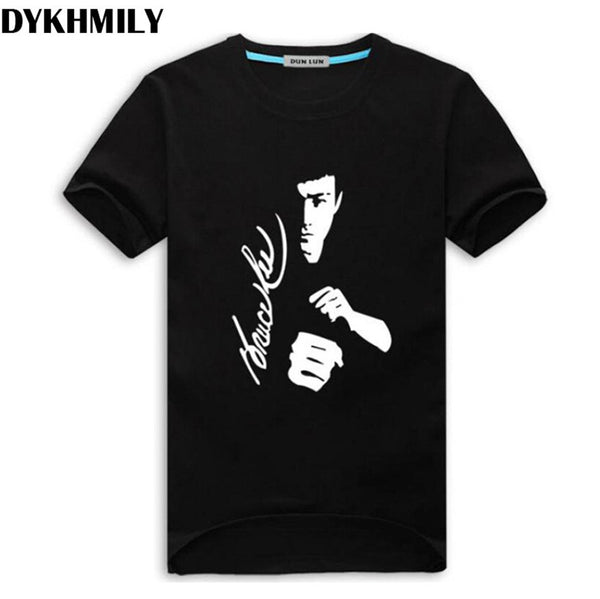 Men's T-shirt Printing Bruce Lee