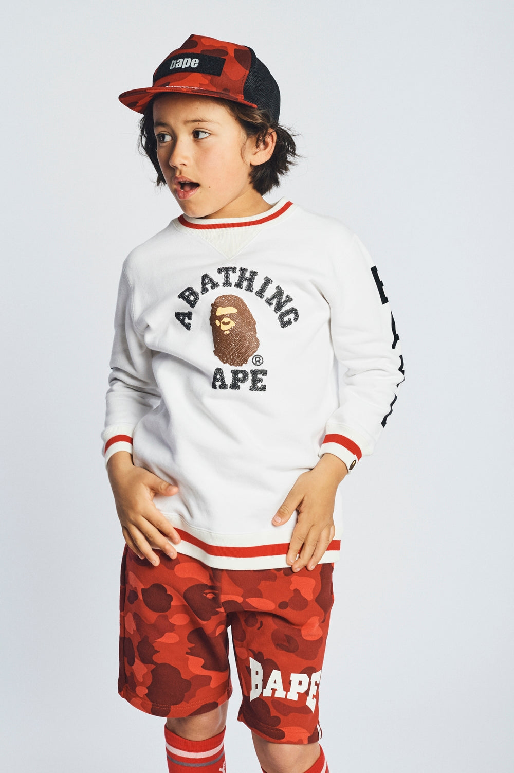 A BATHING APE 2018 SS KIDS' LOOKBOOK 14