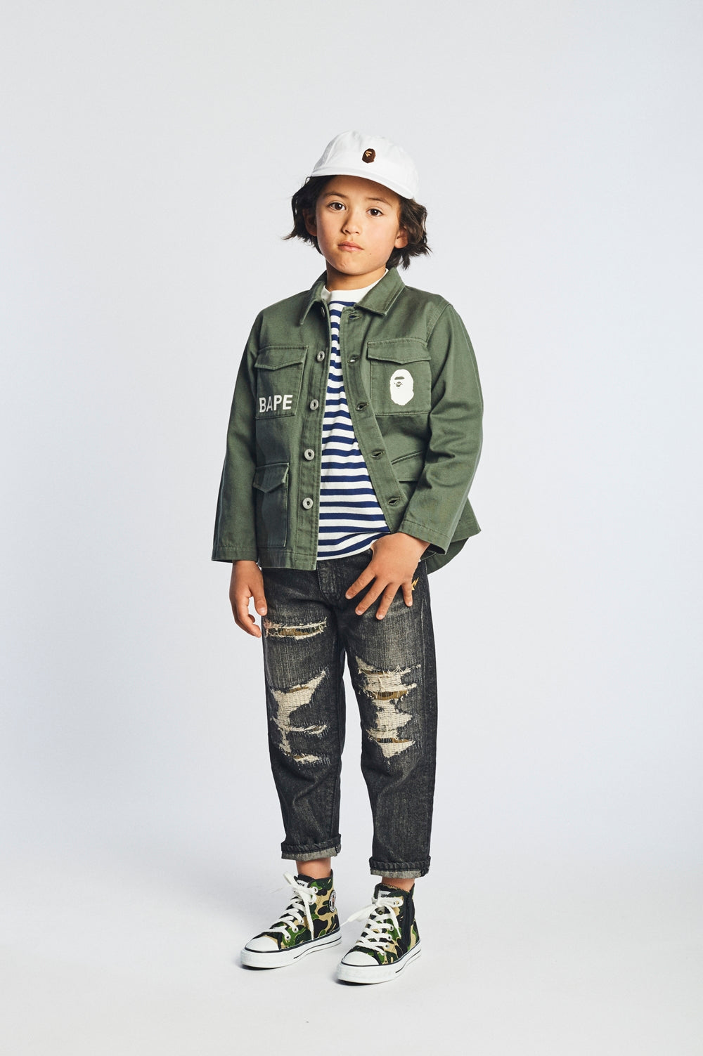 A BATHING APE 2018 SS KIDS' LOOKBOOK 18