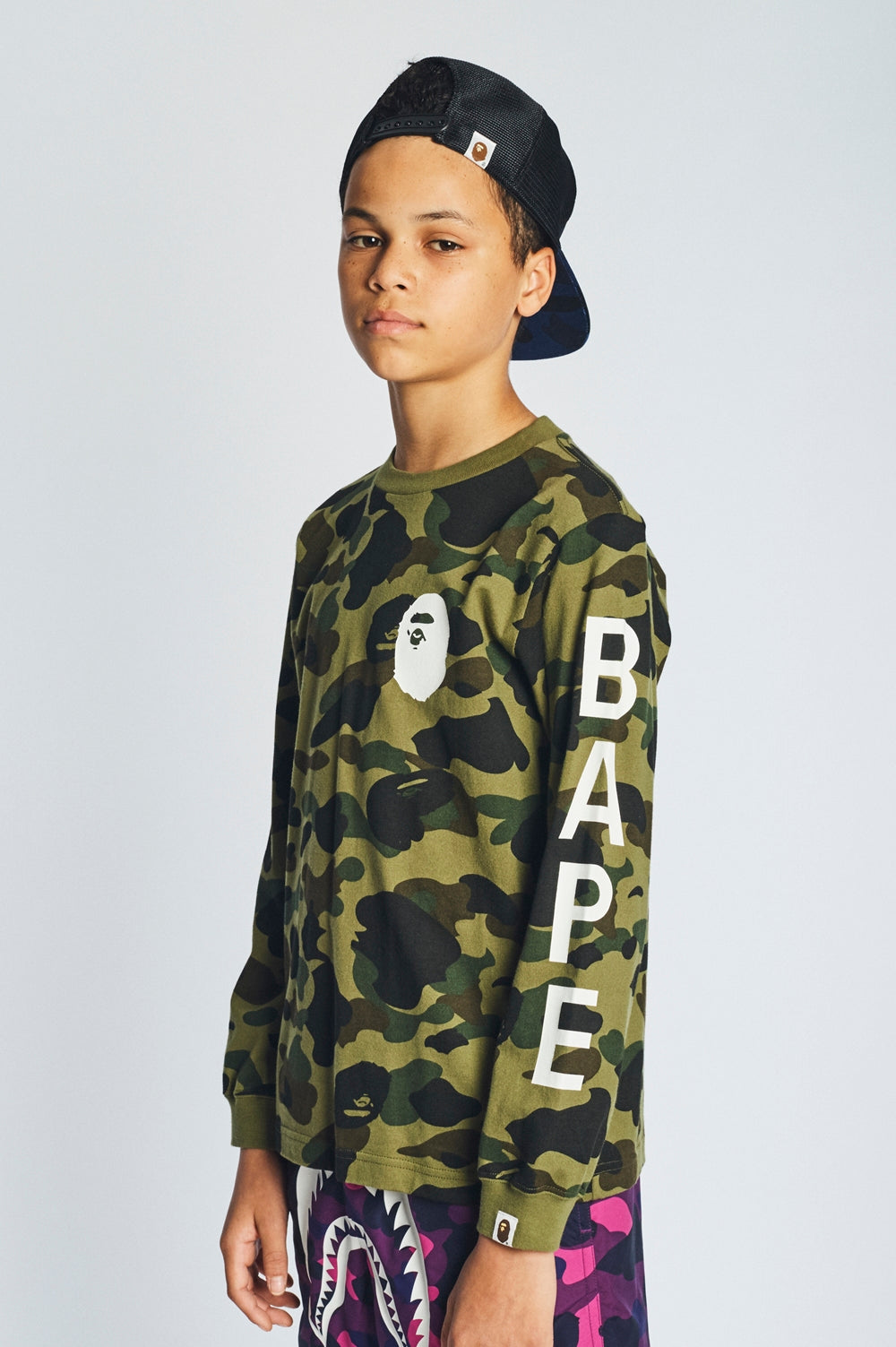 A BATHING APE 2018 SS KIDS' LOOKBOOK 23